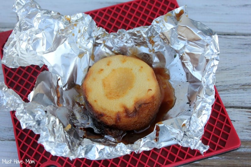 Grilled Pineapple Upside Down Cake Recipe Step 5