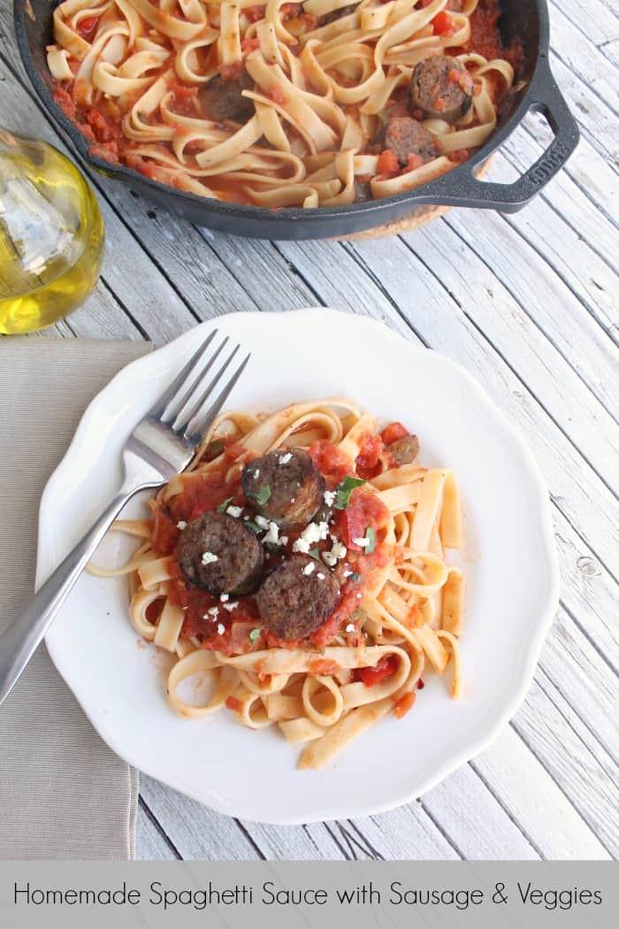 Homemade Spaghetti Sauce With Veggies