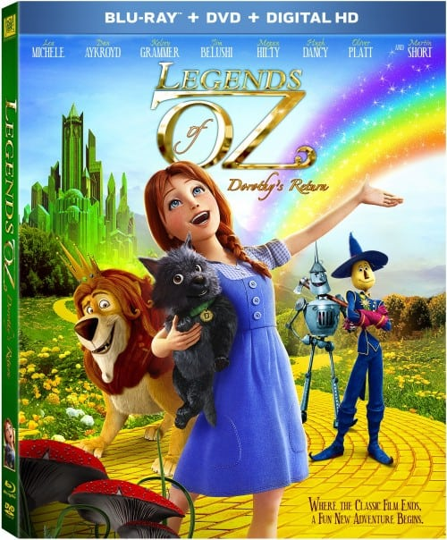 Legends of Oz Blu-Ray