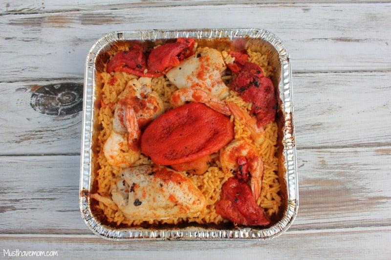 Paella on the Grill Recipe -Musthavemom.com