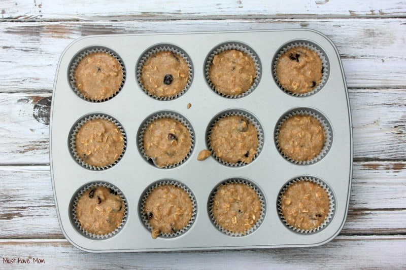Picky Eater Muffin Instructions