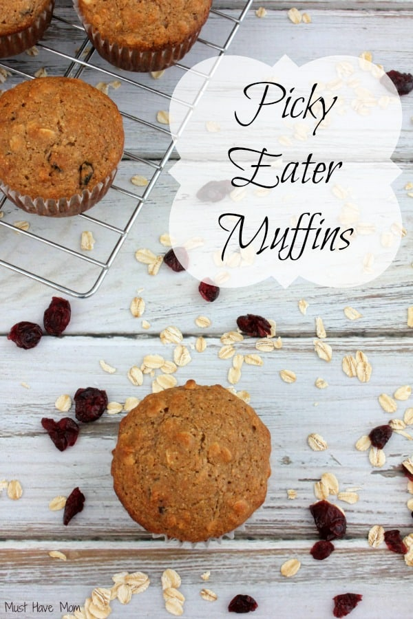 Picky Eater Muffins Recipe - Packed with DHA, Vitamin D, Iron, Calcium and Prebiotics