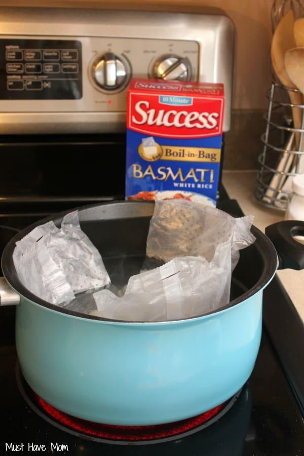Success Basmati Boil in a bag rice