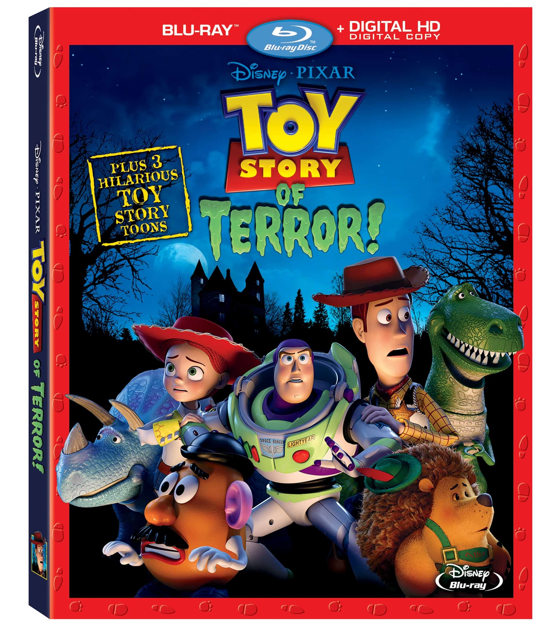 Toy Story Of Terror Box Art