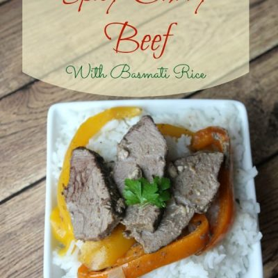 2 Step Spicy Curry Beef With Basmati Rice Recipe