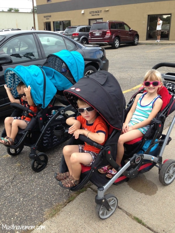 Contours Baby Tandem Strollers -Musthavemom.com