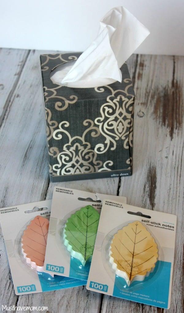 DIY Fall Tissue Box -Musthavemom.com