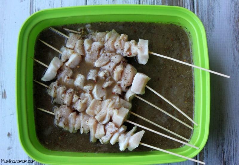 Jerk Chicken Kabob Marinade -Musthavemom.com