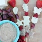 Kids Cooking: Fruit & Cheese Skewers With Cinnamon Greek Yogurt Dip Recipe!