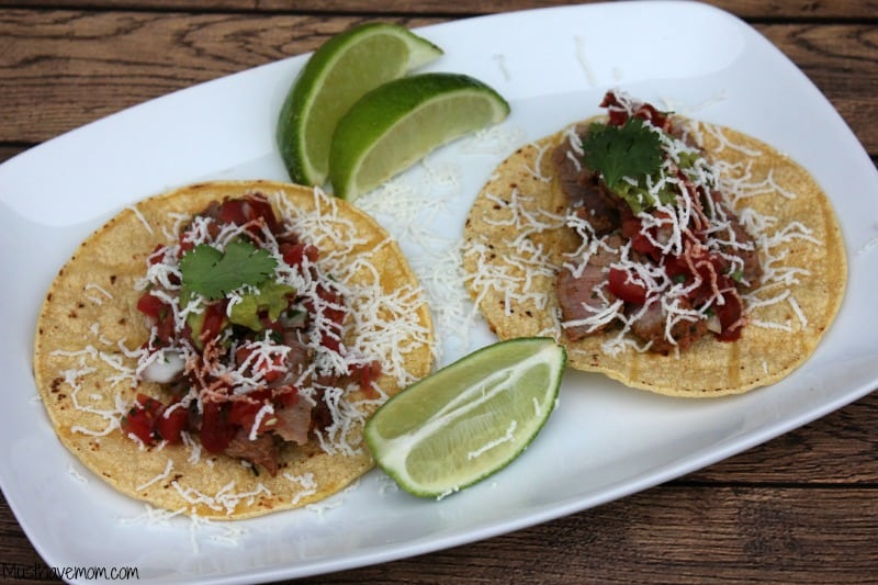 Mexican Steak Tacos - Musthavemom.com