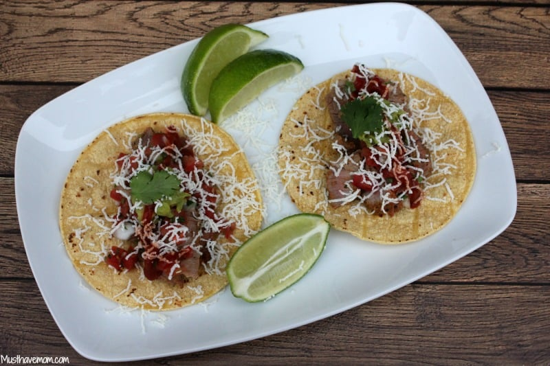 Mexican Steak Tacos Recipe - Musthavemom.com