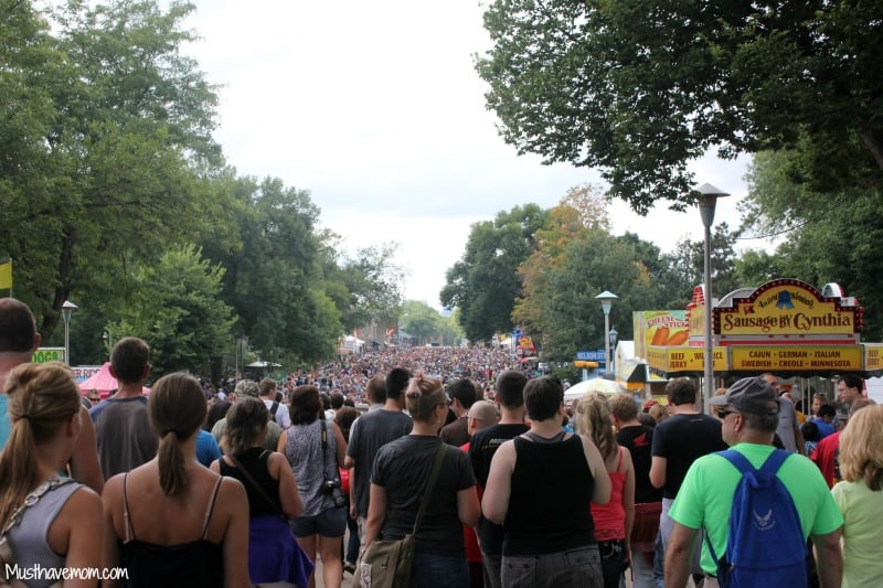 Minnesota State Fair Record Breaking Attendance Day