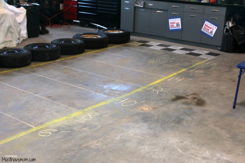Motorworks Party Drag Race Activity