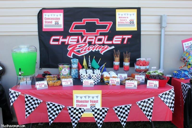Race Car Birthday Party Ideas