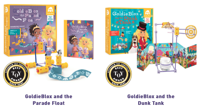 The new GoldieBlox float in the Macy's Thanksgiving Day parade will have  moving parts—including