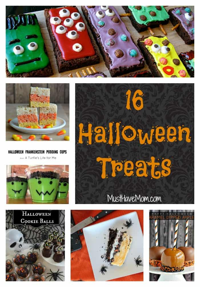 16 Spooky Halloween Treats For Your Trick Or Treat Night!
