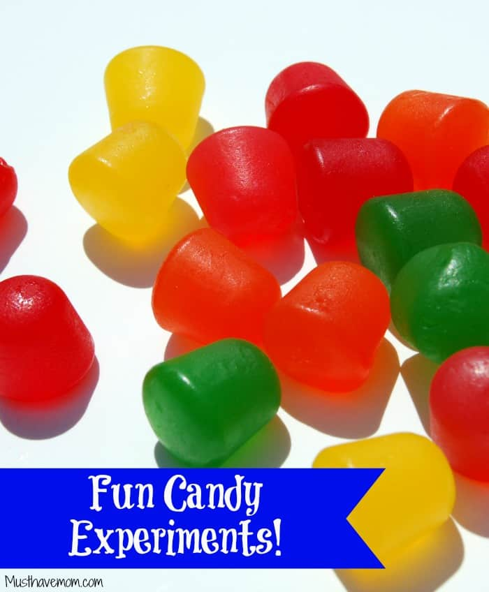 Fun Candy Experiments - Great for leftover candy