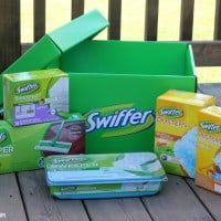 Catch My Sister\'s Reaction When I Surprised Her With A Swiffer Big Green Box!