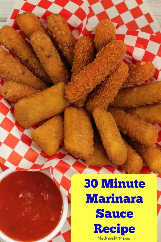 30 Minute Marinara Sauce Recipe