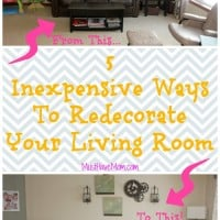5 Inexpensive Ways To Redecorate Your Living Room