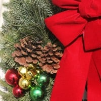 Welcome Guests With A Gorgeous Christmas Forest Christmas Wreath! {+ Giveaway!!}