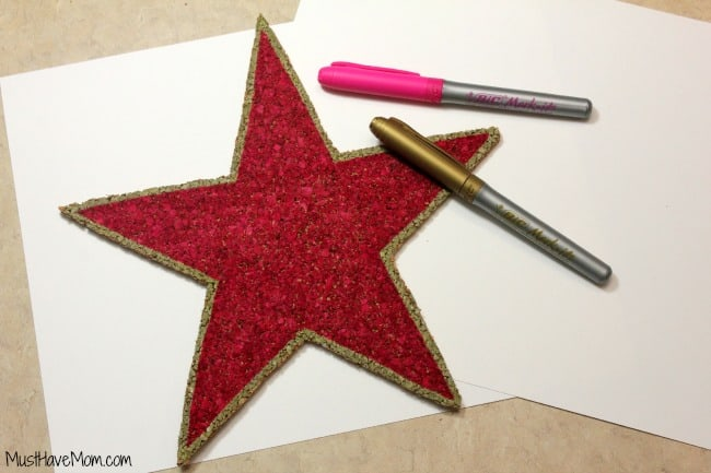 Cut out your star