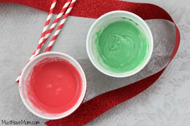 DIY Christmas Frosting