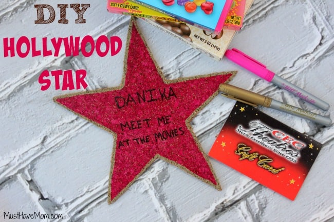 How to make a hollywood star movie party idea