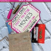 DIY Movie Gift Card Gift Idea