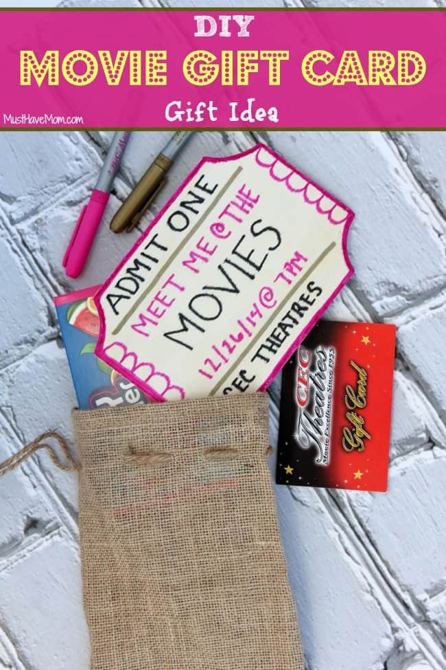 diy movie gift card wrapping ideas. Black Bedroom Furniture Sets. Home Design Ideas