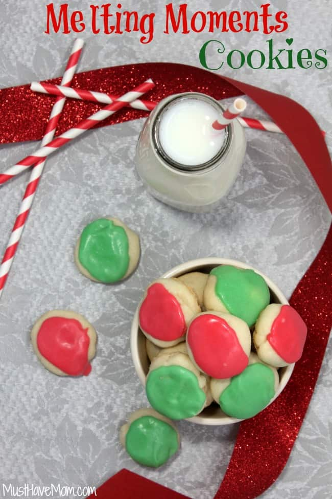 Grandma's Melting Moments Cookies Recipe
