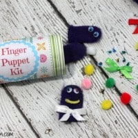 How To Make A Finger Puppet Kit