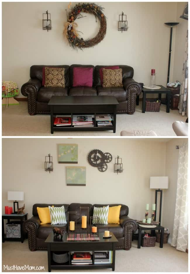 5 inexpensive ways to decorate your living room. Black Bedroom Furniture Sets. Home Design Ideas