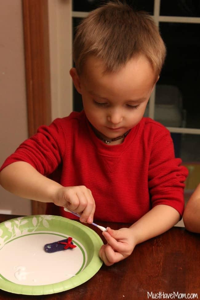 Kids Craft Finger Puppets