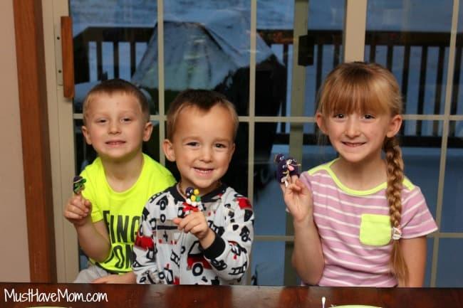 Kids Finger Puppet Craft