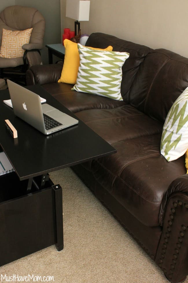 Lift Top Coffee Table Living Room Office