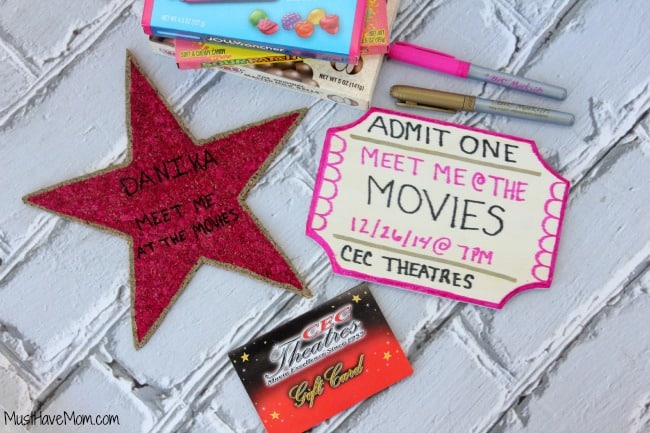 Movie Gift Card Gifting Ideas