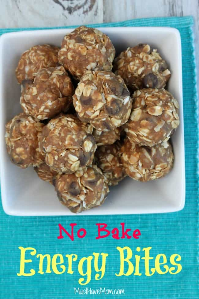 No Bake Energy Bites Recipe - Must Have Mom