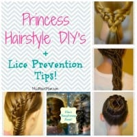 Princess Hairstyle DIY + Lice Prevention Tips!
