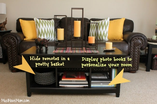 Redecorate your living room tips
