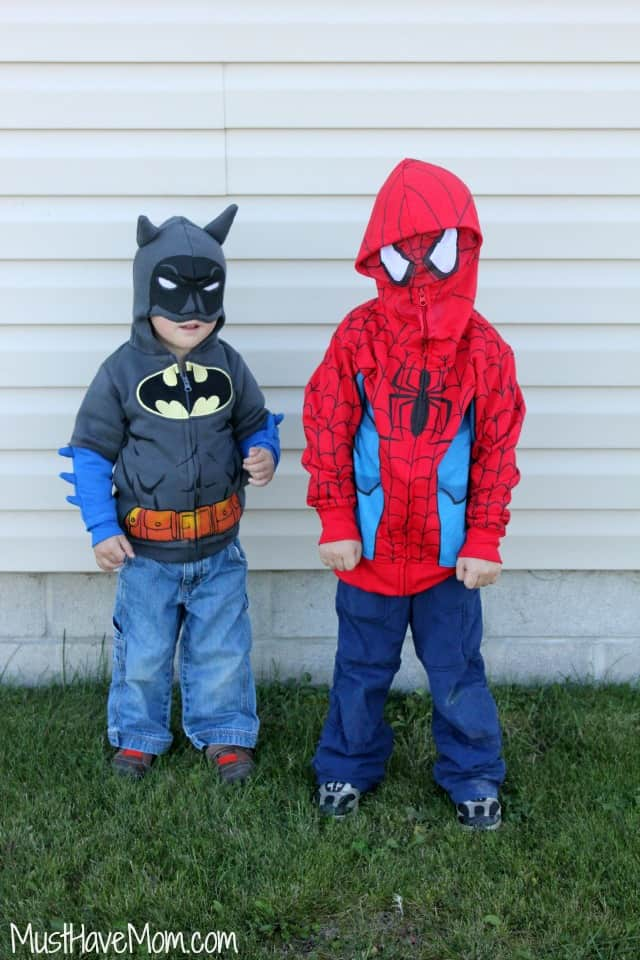Superhero Hoodies for boys
