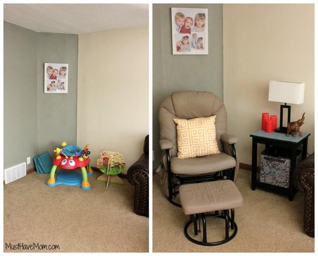 Turn a corner into a cozy nook