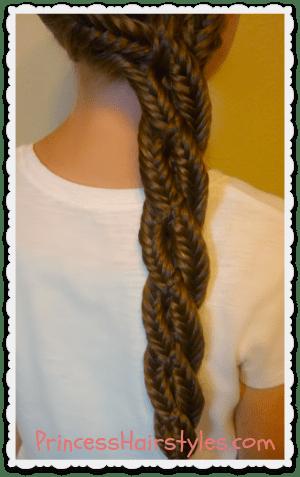 centipede braid