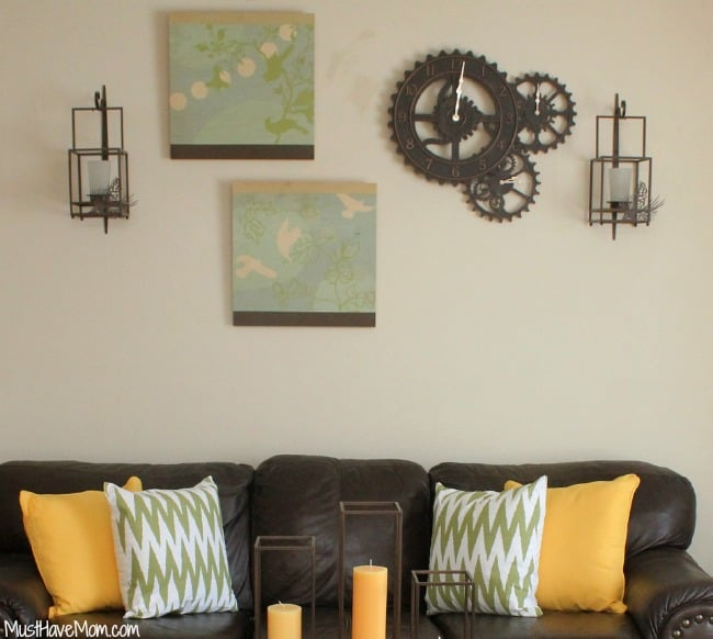 change your wall hangings for a new look