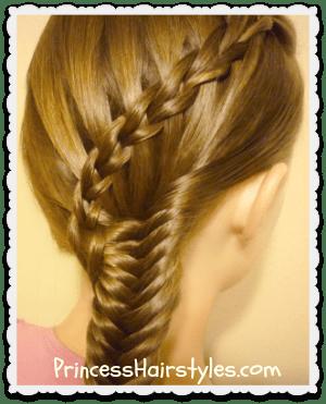 waterfall scissor braid combo