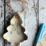 DIY 5 Minute Rustic Ornament Or Gift Tag