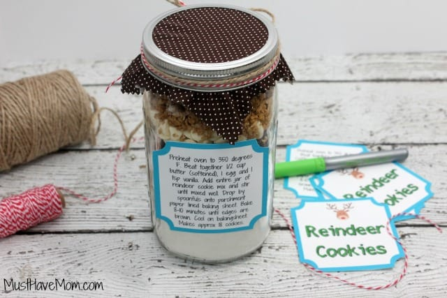 Free printable tags for cookies in a jar