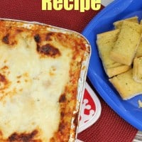 Lasagna Freezer Recipe