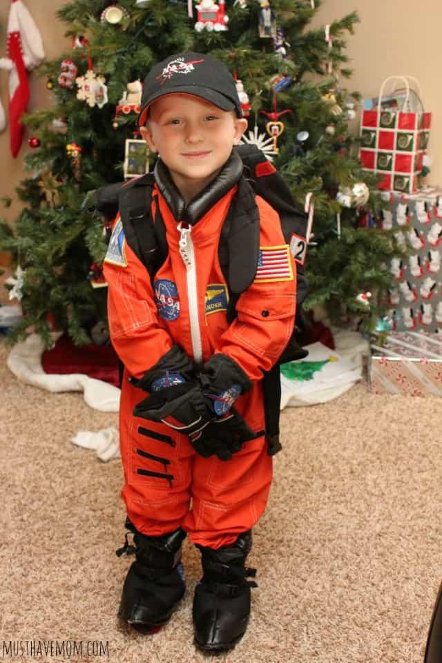 Kids astronaut dress up