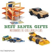 The Best Santa Gifts - Motorworks Tri Level Garage & Cars